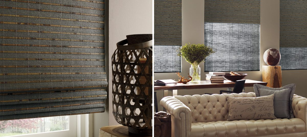 woven wood horizontal blinds
